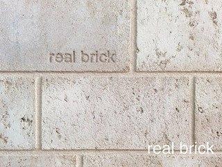 REAL BRICK. Травертин RB 5-00 Слоновая кость Плитка: 300*150*15 0,6(12шт)