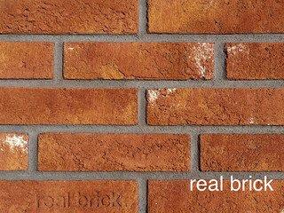 REAL BRICK. Кирпич ручной формовки RB КР/1ПФ RB 15 терракотовый