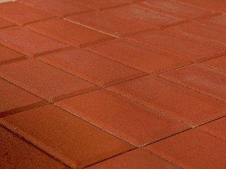 Тротуарная плитка BRAER Прямоугольник Красный, 60 мм