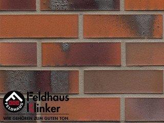 Клинкерная плитка Feldhaus Klinker R562NF14* carbona terreno bluastro
