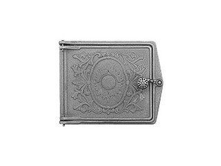 Дверца топочная ДТ-3, (291х230х67) 250х210х36 глухая, RLK 385 (Рубцовск)