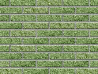 Кирпич облицовочный полнотелый BARRUM Зеленый, брусок 0,5 НФ